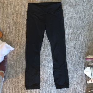 "Lululemon 25"" Run Free Leggings"